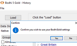 Load only the history you are updating with Bodhi