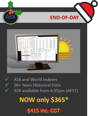ASX End-of-Day Christmas Special